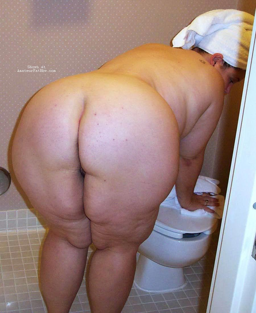 Mature big fat ass