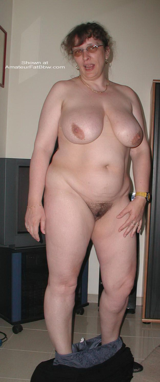 Chubby nude old pic woman