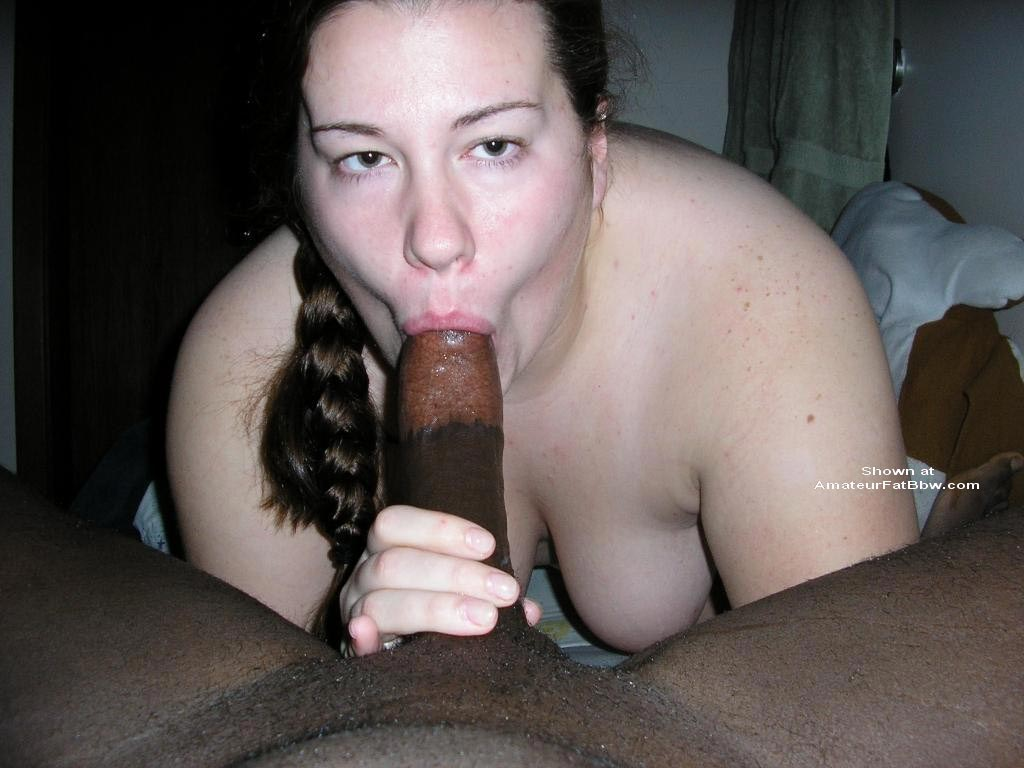 Bbw Interracial Sloppy Head