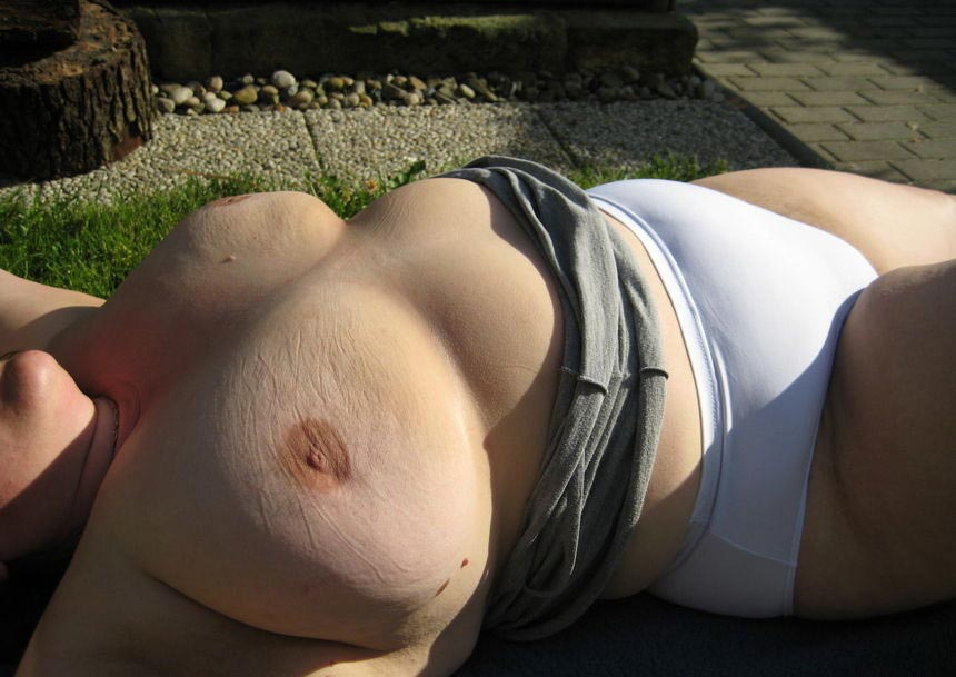 Important Butt amateur bbw outdoors and the