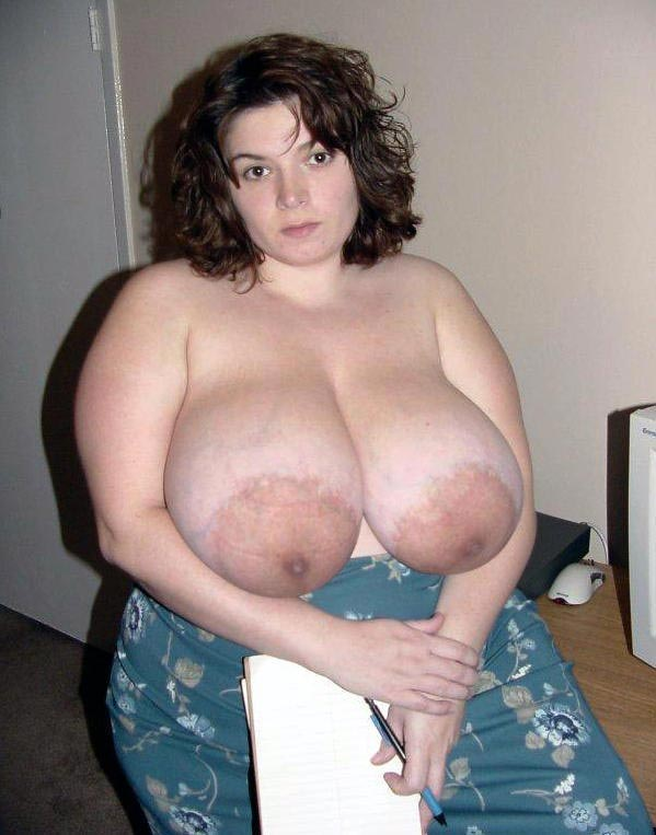 Tits big amateur wives