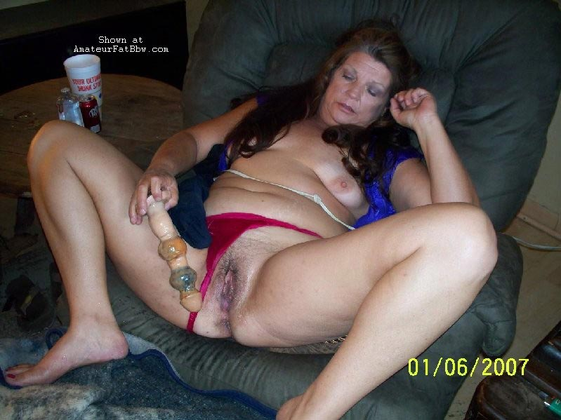 Babe such fat women with sex toys what great