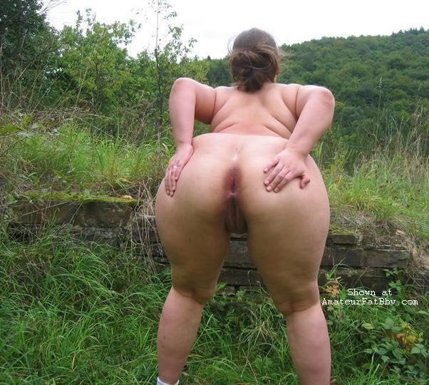 Fat mature round ass women