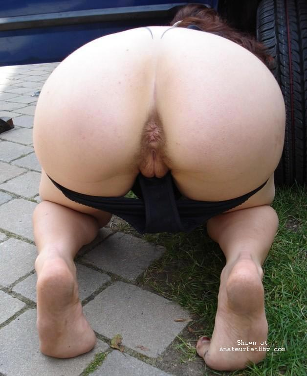 Shall afford Butt amateur bbw outdoors for