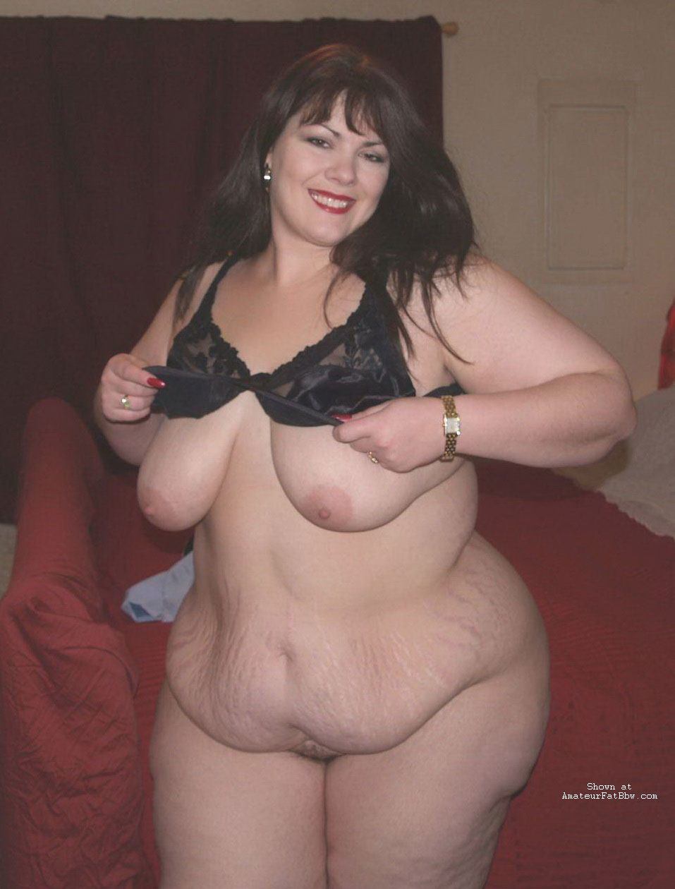 Naked fat woman big boobs