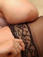 BBW legs in stockings