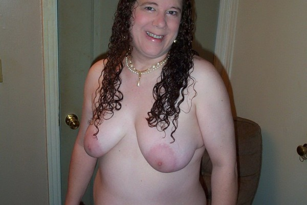 Amateur fat woman