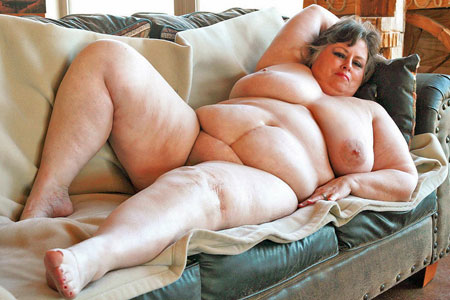 Fat big naked woman with you